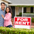 hispanic couple outside home for rent stock photo © monkey_business