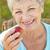 idős · nő · alma · diéta · egészséges · életmód · nők - stock fotó © monkey_business