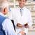amerikai · gyógyszerész · idős · férfi · gyógyszertár · egészség - stock fotó © monkey_business