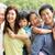 asian · Familienbild · chinesisch · Familie · entspannenden · Park - stock foto © monkey_business