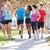 group of runners on suburban street stock photo © monkey_business