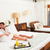 casal · relaxante · quarto · de · hotel · hotel · quarto - foto stock © monkey_business