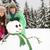2 · 青少年 · 建物 · 雪だるま · スキー · 休日 - ストックフォト © monkey_business