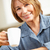 mid age woman drinking coffee stock photo © monkey_business