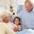 дочь · старший · матери · больницу · медицина · семьи - Сток-фото © monkey_business