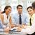 gemengd · groep · zakenlieden · kantoor · business · vrouwen - stockfoto © monkey_business