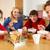 семьи · еды · завтрак · вместе · кухне · детей - Сток-фото © monkey_business