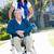 verpleegkundige · voortvarend · senior · man · rolstoel · lobby - stockfoto © monkey_business