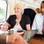 reunión · tren · mujeres · tecnología · empresario - foto stock © monkey_business