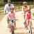 família · ciclismo · segurança · capacetes - foto stock © monkey_business