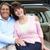 senior hispanic couple outdoors with car stock photo © monkey_business