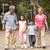 abuelos · caminando · parque · nieta · mujer · familia - foto stock © monkey_business