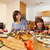 Family Eating Lunch Together In Kitchen stock photo © monkey_business