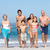 drei · Generation · Familie · Urlaub · Fuß · Strand - stock foto © monkey_business