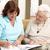 nővér · otthon · nő · idős · beteg · nők - stock fotó © monkey_business
