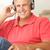 mid age man wearing headphones stock photo © monkey_business