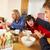 familia · comer · desayuno · junto - foto stock © monkey_business
