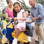 chinese grandparents playing with grandchildren in playground stock photo © monkey_business
