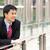 portré · kínai · üzletember · mosolyog · kívül · iroda - stock fotó © monkey_business