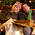 Pareja · Navidad · compras · viaje · mujer · feliz - foto stock © monkey_business