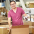 работник · склад · товары · окна · мужчин · завода - Сток-фото © monkey_business
