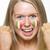 jóvenes · femenino · deportes · ventilador · bandera · italiana · pintado - foto stock © monkey_business