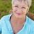 старший · женщину · сидят · саду · Председатель · улыбаясь - Сток-фото © monkey_business