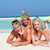 família · mar · praia · tropical · férias · praia · menina - foto stock © monkey_business
