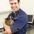 veterinário · gato · cirurgia · sorrir · retrato - foto stock © monkey_business