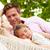 família · relaxante · praia · maca · adormecido · filha - foto stock © monkey_business