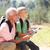 abuelo · aprendizaje · nieto · leer · ninos · feliz - foto stock © monkey_business
