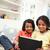 indian · familie · digitale · tablet · vrouwen · gelukkig - stockfoto © monkey_business