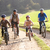 jeunes · parents · enfants · vélos · parc · garçon - photo stock © monkey_business