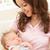 счастливым · матери · ребенка · мальчика · фотография · белый - Сток-фото © monkey_business
