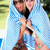 two women wrapped in towel standing by swimming pool stock photo © monkey_business