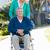 verzorger · gehandicapten · portret · vrouwelijke · verpleeginrichting - stockfoto © monkey_business