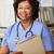 femminile · infermiera · stazione · donna · donne - foto d'archivio © monkey_business