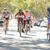 groep · fietsers · voorstads- · straat · vrouw · weg - stockfoto © monkey_business