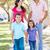 família · caminhada · calçada · bebê · mãe · jeans - foto stock © monkey_business