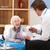 uk gp visiting senior woman at home stock photo © monkey_business