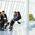 dyskusji · trzy · różnorodny · siedzieć · mały - zdjęcia stock © monkey_business