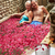 senior couple relaxing in flower petal covered pool at spa stock photo © monkey_business