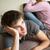 meisje · slaapkamer · jongen · tieners · tieners - stockfoto © monkey_business