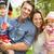 ouders · spelen · opwindend · avontuur · spel · kinderen - stockfoto © monkey_business