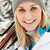narciarskie · wakacje · góry · kobieta · szczęśliwy - zdjęcia stock © monkey_business