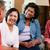 Senior · weiblichen · Freunde · zusammen · Sitzung - stock foto © monkey_business