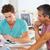 二人の男性 · 会議 · 創造 · オフィス · ビジネス · ビジネスマン - ストックフォト © monkey_business