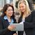 деловое · совещание · за · пределами · служба · современных · женщину · здании - Сток-фото © monkey_business