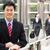 portret · chińczyk · biznesmen · kobieta · interesu · na · zewnątrz · biuro - zdjęcia stock © monkey_business