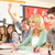 teenage students studying in classroom answering question stock photo © monkey_business